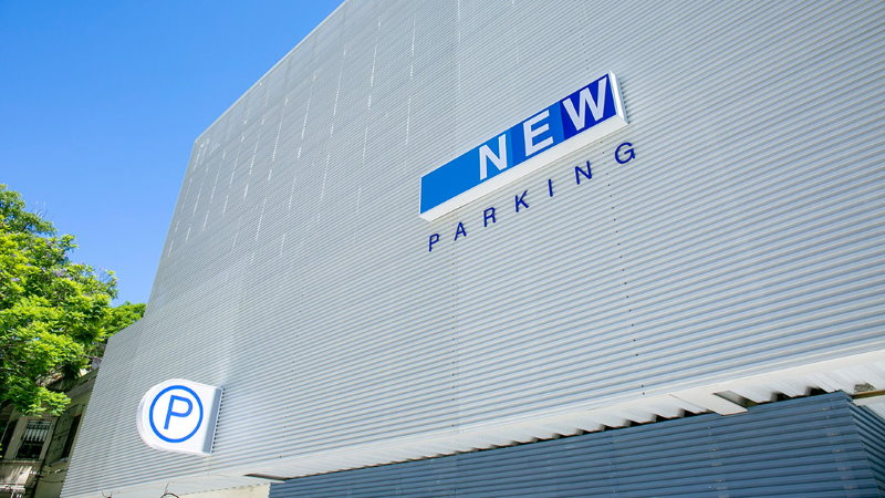Inauguración de New Parking