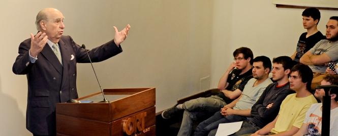 El Dr. Julio María Sanguinetti en la Universidad ORT Uruguay