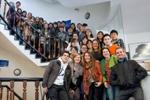 Estudiantes de la Universidad Pedagógica de Harbin en la Universidad ORT Uruguay.