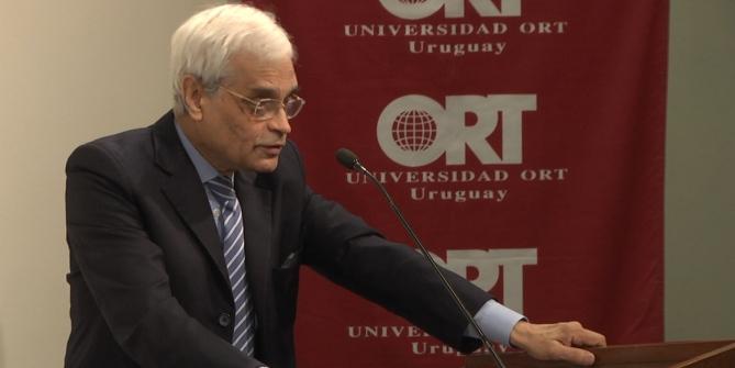 Conferencia de la Licenciatura en Estudios Internacionales de la Universidad ORT Uruguay.