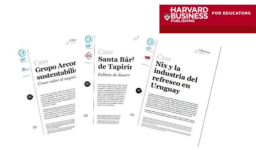 Profesores de la universidad publican casos en Harvard Business ...