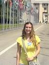 Mariana Dambolena, Licenciada en Estudios Internacionales.