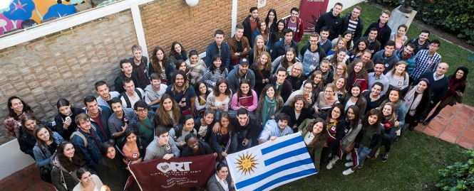La universidad recibió a 64 estudiantes de intercambio