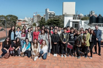 Estudiantes de China en la Universidad ORT Uruguay