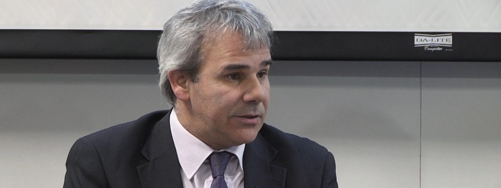 El embajador Jorge Muiño
