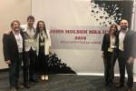 Estudiantes del MBA de ORT en la John Molson Case Competition