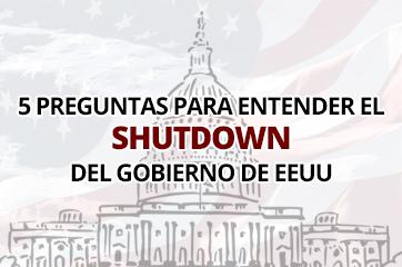 Shutdown de Estados Unidos