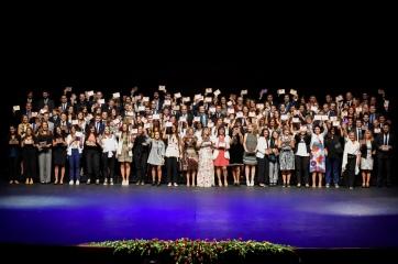Ceremonia de graduación de postgrados