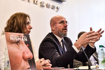 Presentación de libro sobre Nisman