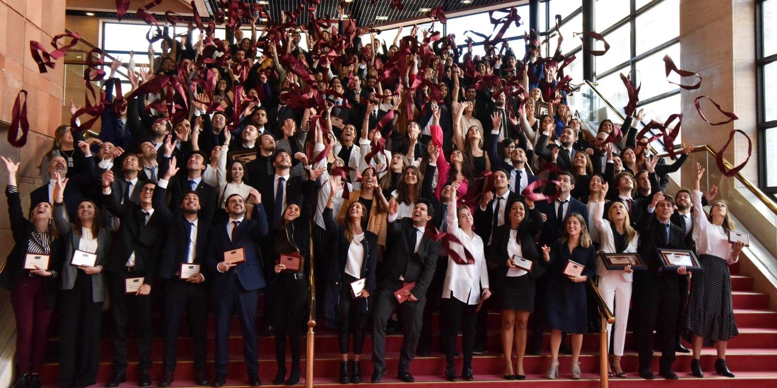 Graduación - El evento tuvo lugar el lunes 29 de abril de 2019 en el Auditorio Nacional del Sodre