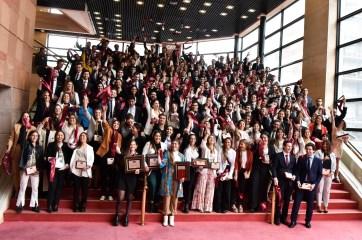 Ceremonia Anual de Graduación de la Universidad ORT Uruguay