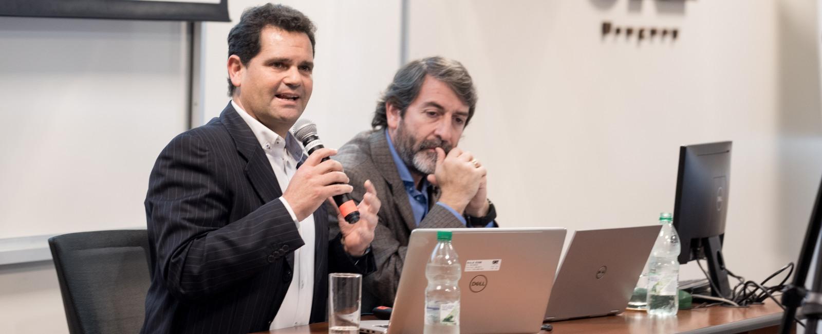 Santiago Machado y Luis Silva Domingo