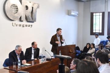 Pablo Caputi, Eduardo Blasina y Pablo Carrasco