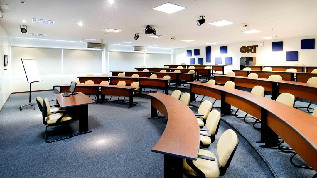 Hemiciclo de la Facultad de Administración y Ciencias Sociales