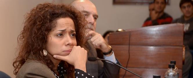 Julissa Reynoso en la Universidad ORT Uruguay