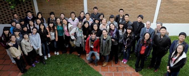 estudiantes de harbin-ort, despedida